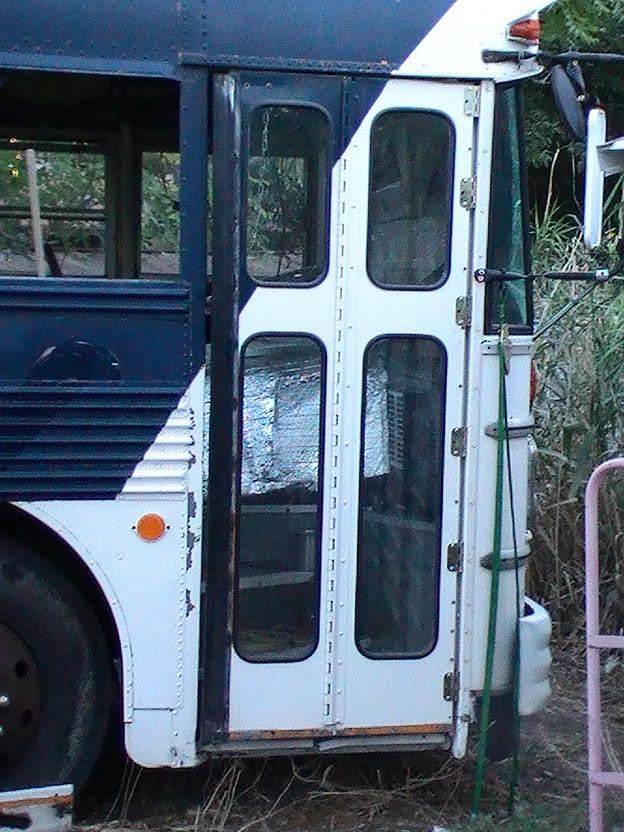 How To Securely Lock The Passenger Door School Bus