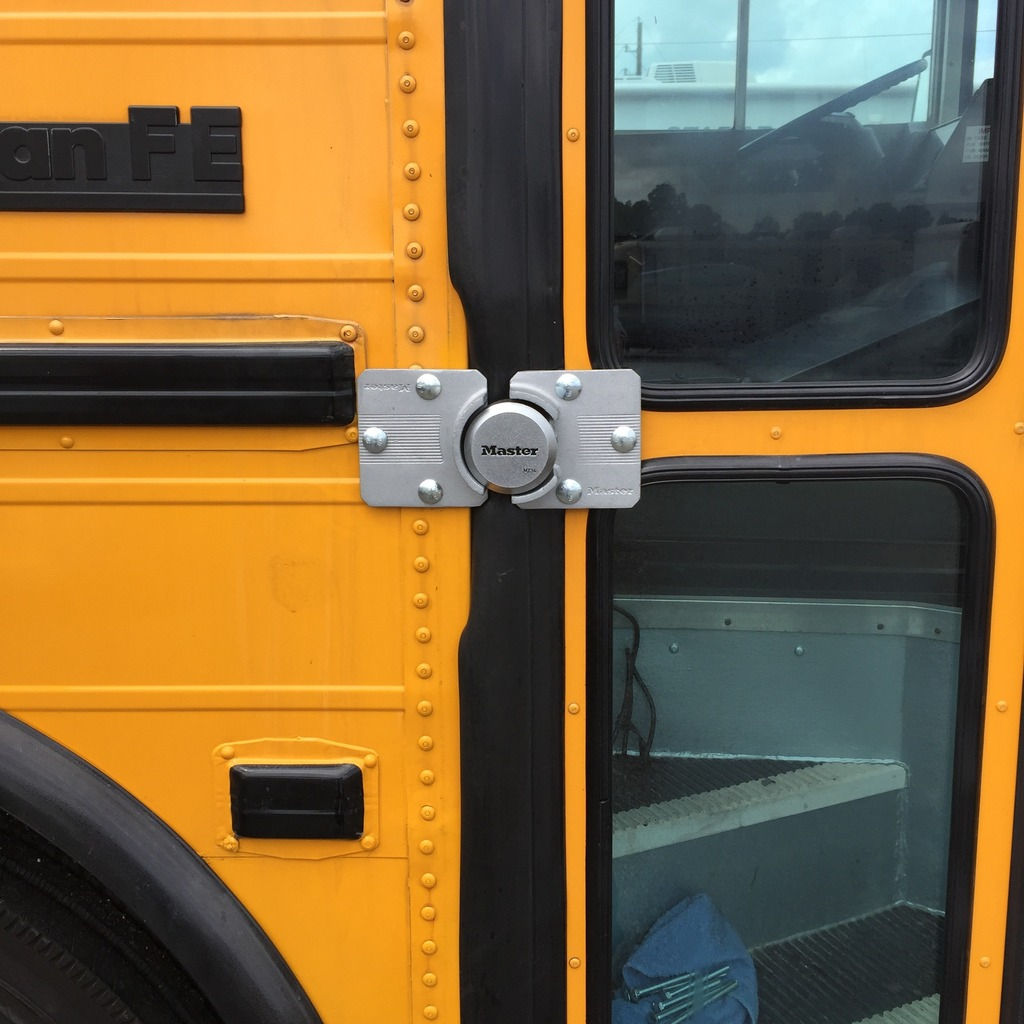 Lock Security For The Bus Doors Page 3 School Bus