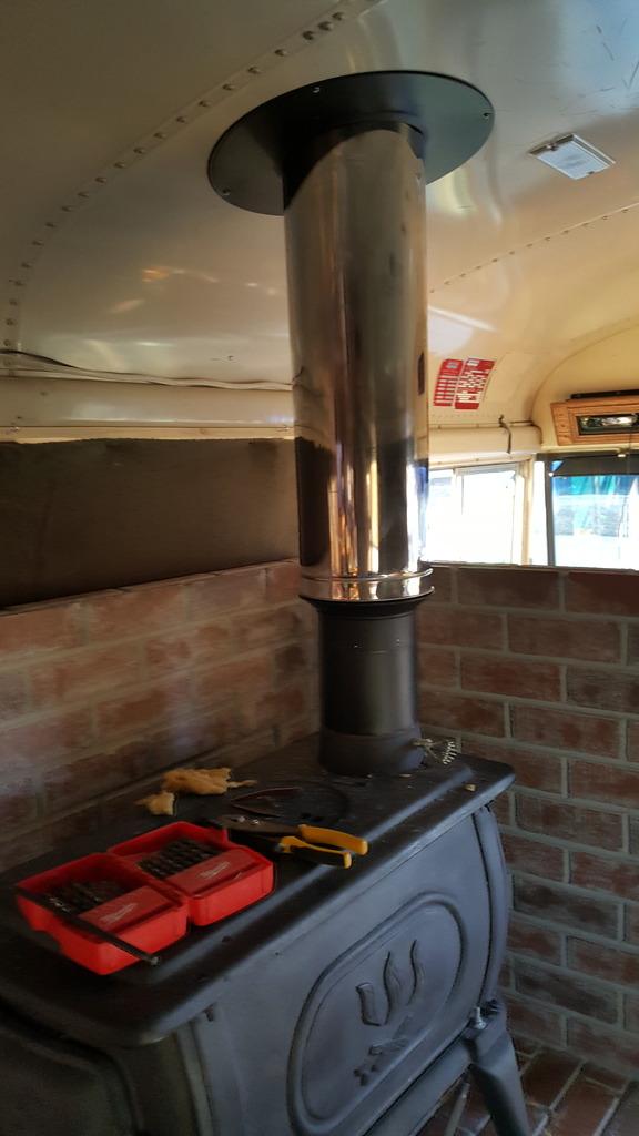 Purpose Of Roof Flashing Wood Stove School Bus