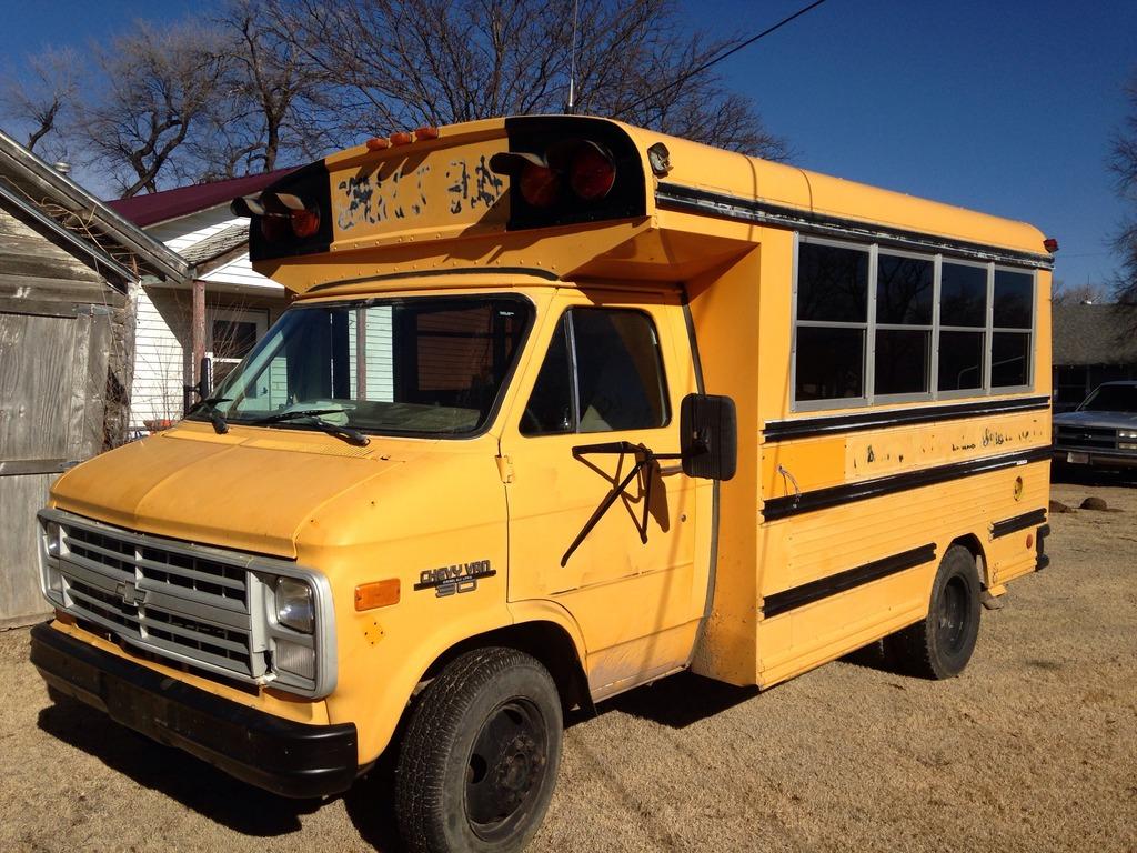 Poorboy toy hauler/camper - School Bus Conversion Resources