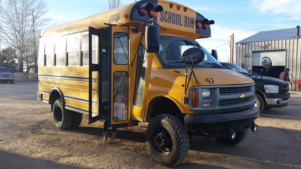4x4 shortie named Z E U S V III build - School Bus Conversion Resources