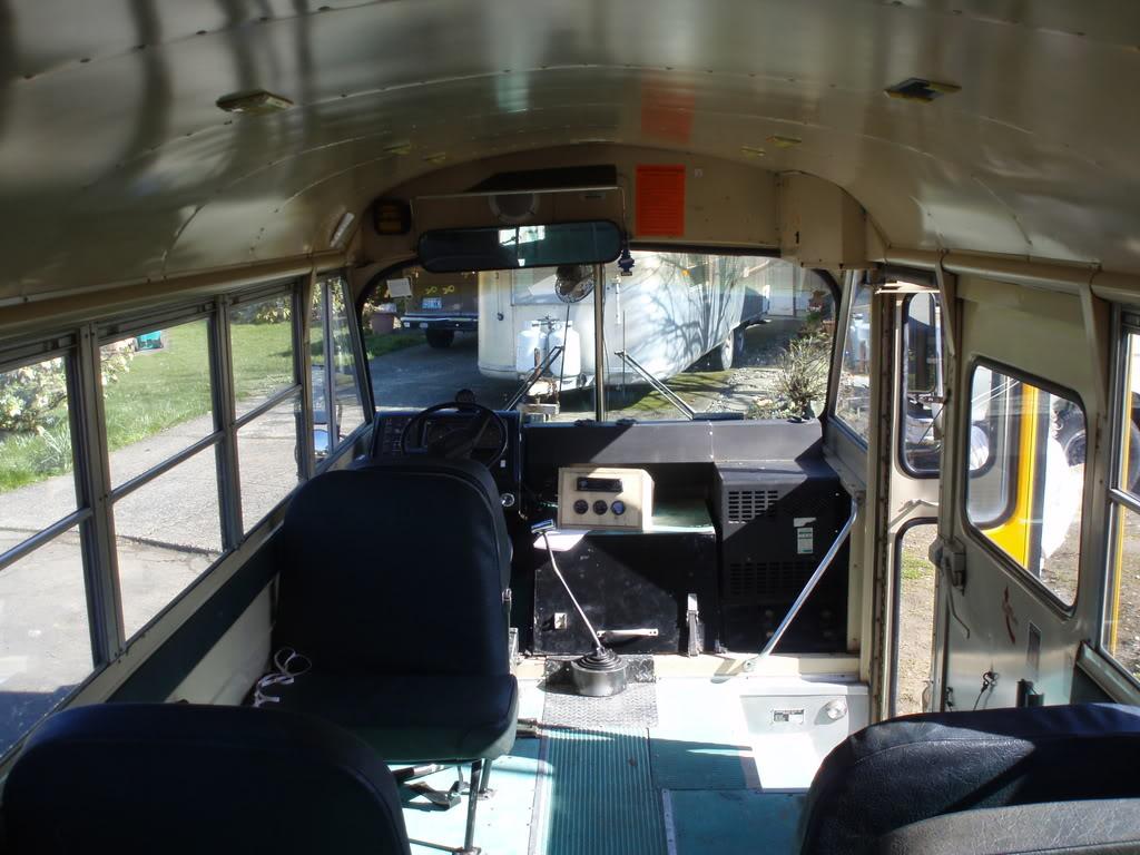 1983 Carpenter Cadet Cv Road Trip Project School Bus