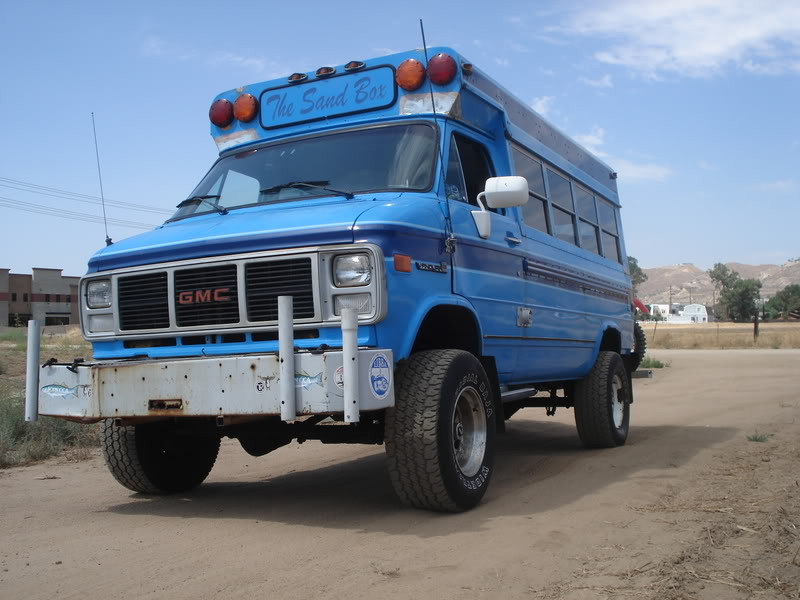91 Gmc Lifted 4x4 Shorty School Bus Conversion Resources