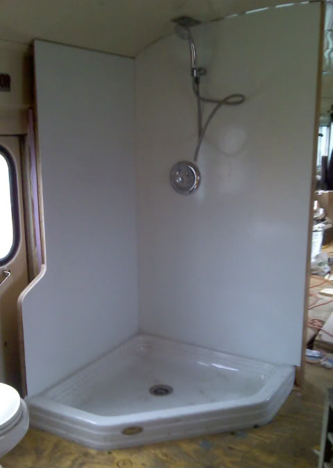 How Big Is Your Shower School Bus Conversion Resources