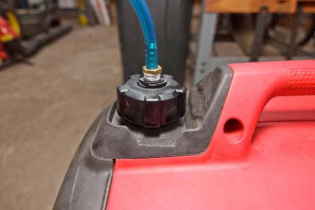 Honda generator gas tank