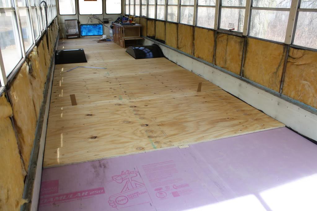 Floor Question School Bus Conversion Resources