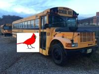 Southeast Ohio school bus conversion to a USA traveler