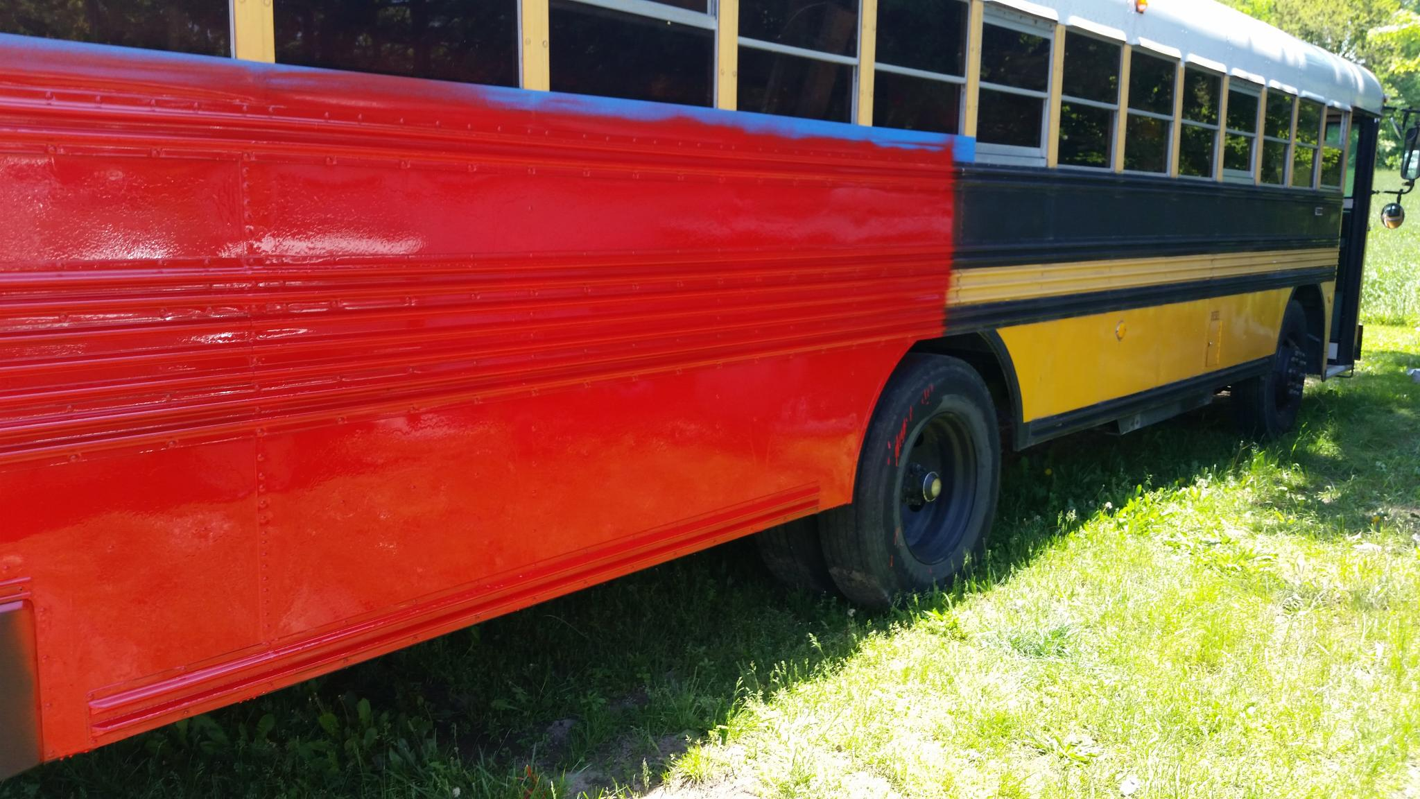 Skeyelar One 1992 Blue Bird Tc 2000 School Bus