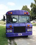Purple Short Bus