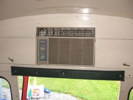 ac rear ac install