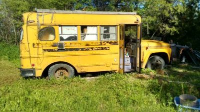 63 GMC School Bus