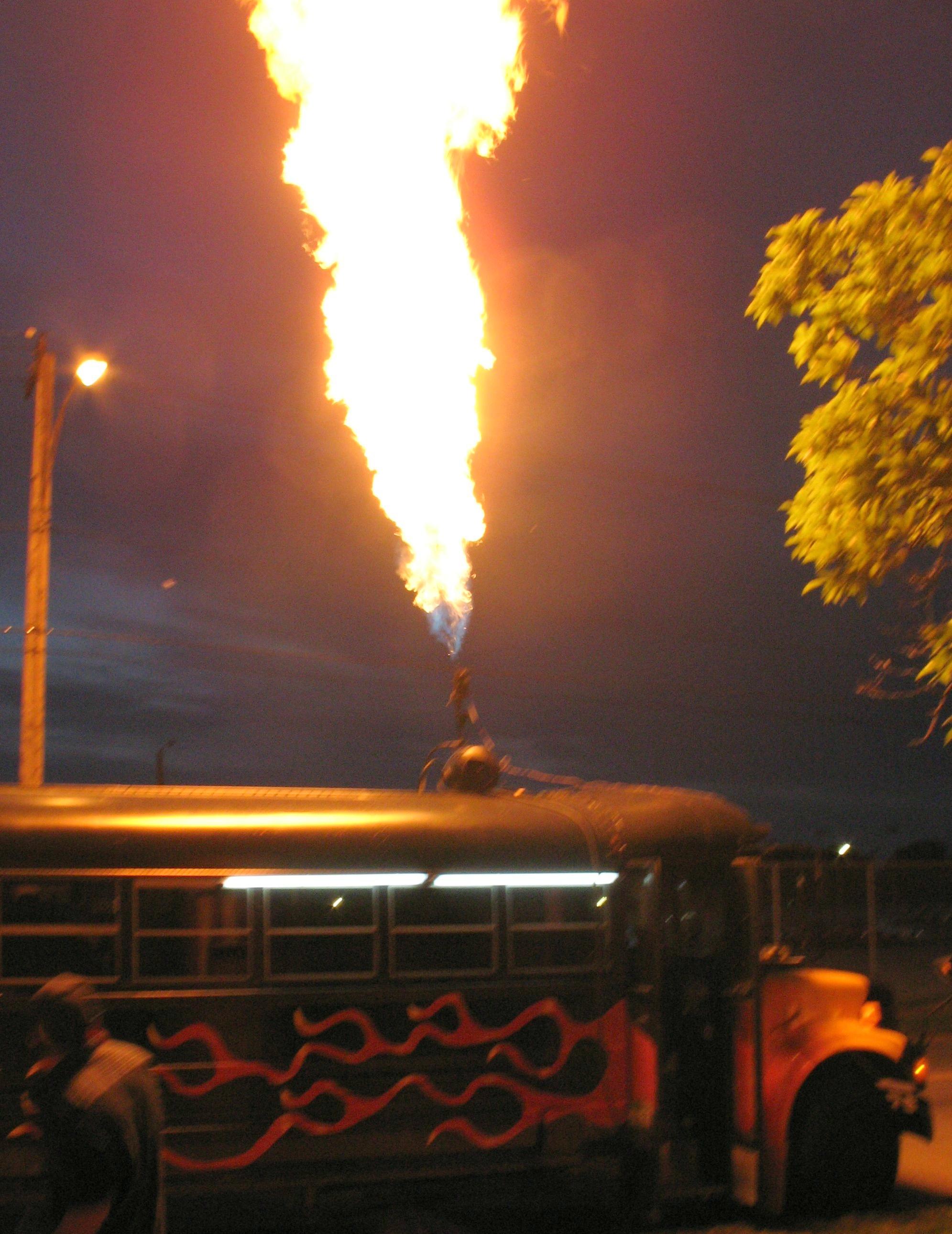 flamethrower