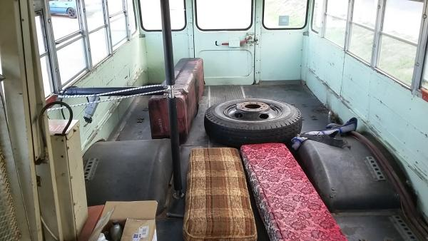 Inside my bus