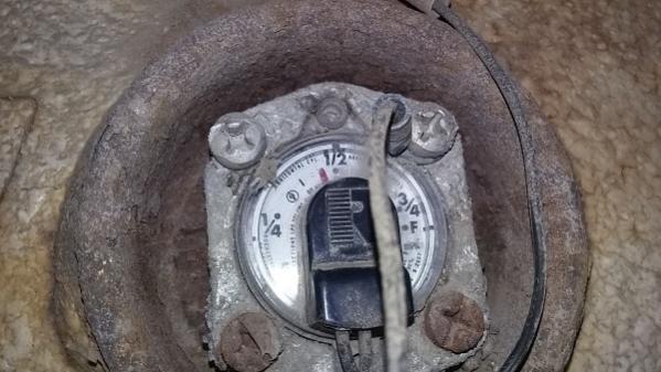 tank mounted fuel gauge