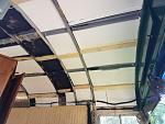 Hanging insulation