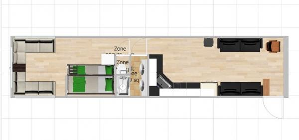 3Dish Floor plan