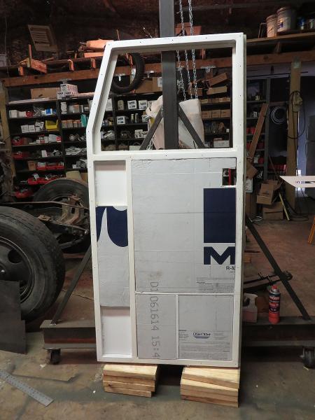 New Door w/insulation going in