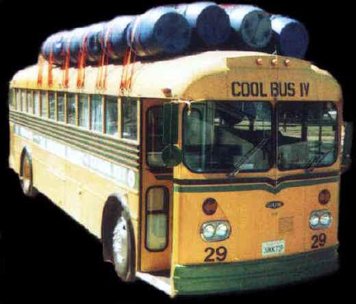 Cool Bus IV headed for Chiapas Mexico