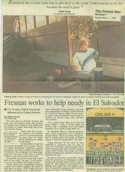 Patrick Press Clipping Cool Bus IV