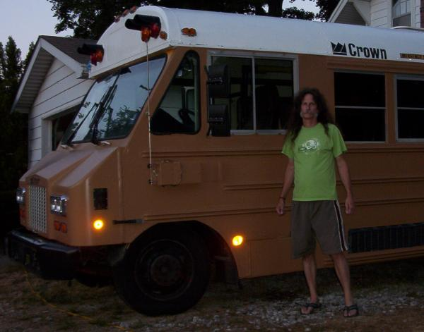 The goober and the bus - July 2012