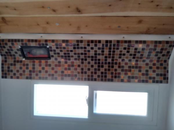 started tiling