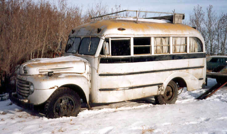 49 Ford school bus