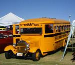 76 SCHOOL BUS AT SHOW