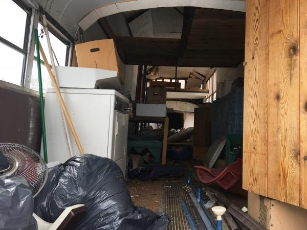 What a mess, I have some cleanup from the guy that was storing his stuff in there. I had mad a nice cedar closet that somebody decided to relocate, stupid idea, and now its got to be reconstructed.