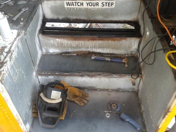Step repair