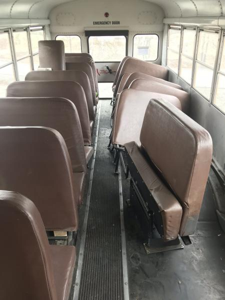 Seats coming out!