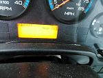 2018 IC Propane bus fuel mileage display with 4400 miles and 133 hours.