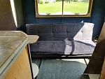 1. Inside back of shuttle. Futon was included. It is going away.