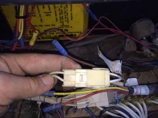 The wire for the clearance markers on a 1995 Thomas international bus. Both wires are positive.