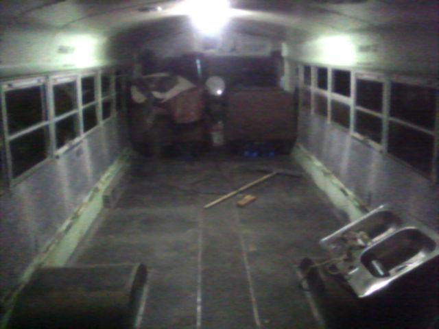 Bare Floor at Night