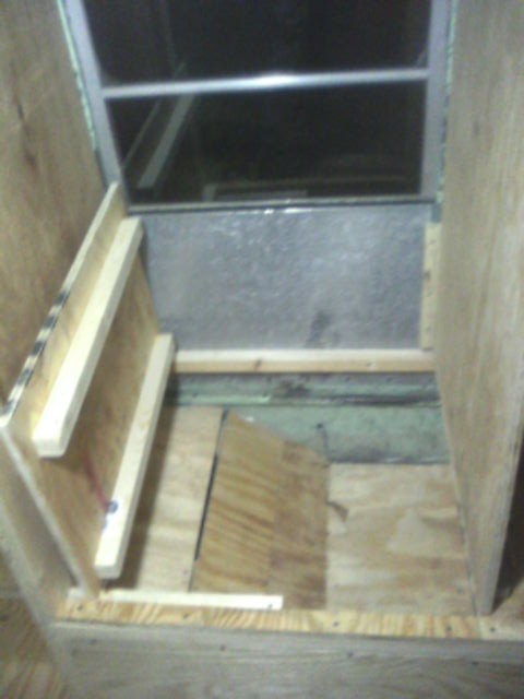 Locker for battery box