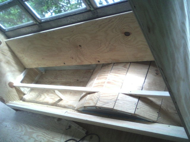 ASupport and shelf for water tank and water heater