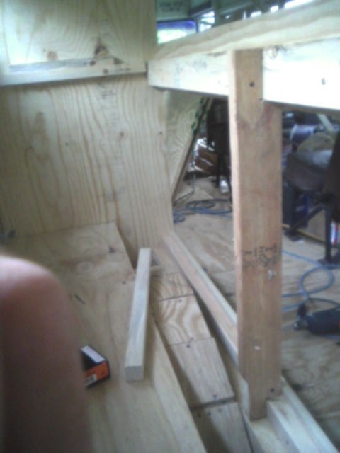 AVery bad job of installing a support