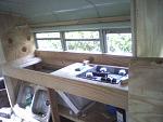 Kitchen counter construction