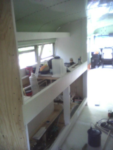 Kitchen Area Being Painted