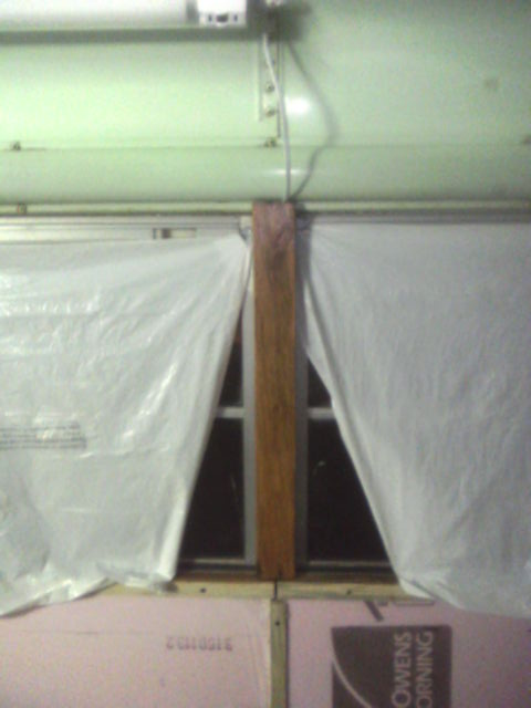 Concealed Wiring in Window Post Cover
