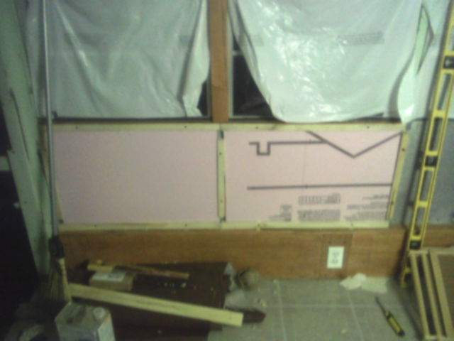 Insulation emplaced