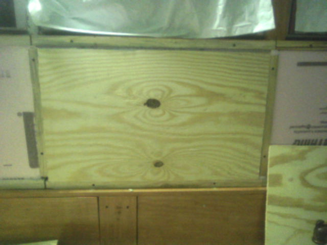 Plywood Over Foam