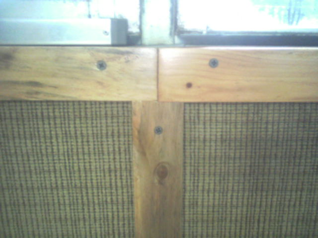Finished Panel Top Rail