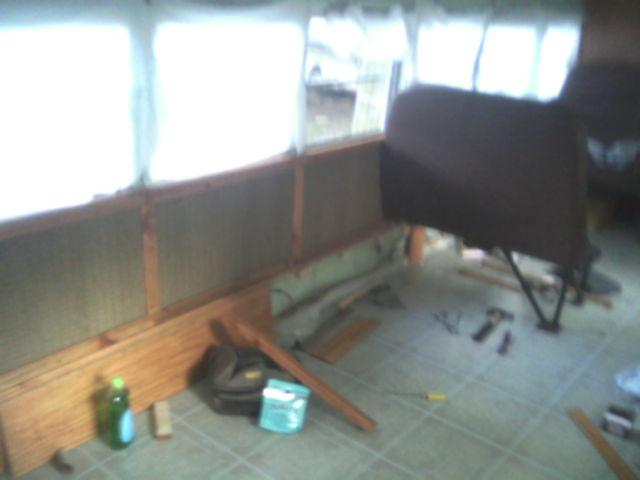 Finished Panels Door Side