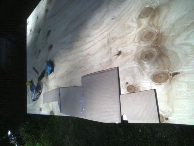 Template on ply