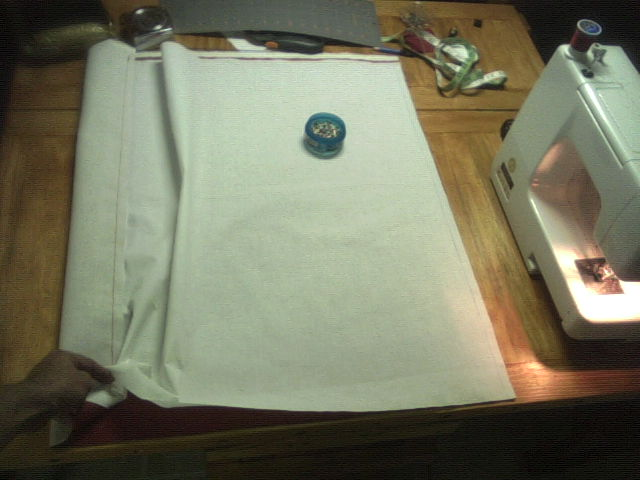Shift Fabric for Second Seam