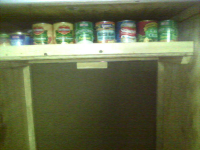 Canned Good Storage