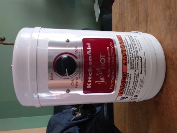 Hot Water score from Habitat for Humanity!