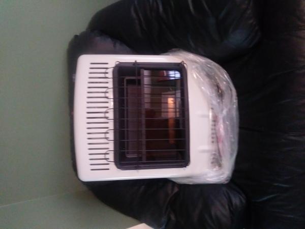 Heater open