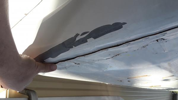 A little.roof damage not seen before buying the bus.  It has caused a bit of leakage.
